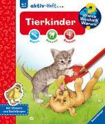 Cover-Bild zu Richter, Stefan (Illustr.): Wieso? Weshalb? Warum? aktiv-Heft: Tierkinder