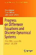 Cover-Bild zu Bohner, Martin (Hrsg.): Progress on Difference Equations and Discrete Dynamical Systems (eBook)