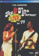 Cover-Bild zu Turner, Ike & Tina (Komponist): The Legends Live In '71 (DVD)