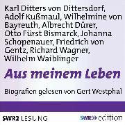 Cover-Bild zu Aus meinem Leben (Audio Download) von Wagner, Richard