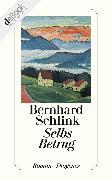 Cover-Bild zu Schlink, Bernhard: Selbs Betrug (eBook)