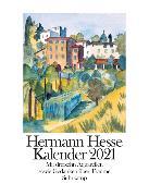 Cover-Bild zu Kalender 2021 von Hesse, Hermann