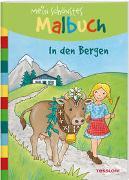 Cover-Bild zu Beurenmeister, Corina (Illustr.): Mein schönstes Malbuch In den Bergen