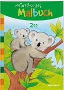 Cover-Bild zu Beurenmeister, Corina (Illustr.): Mein schönstes Malbuch. Zoo