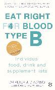 Cover-Bild zu Eat Right For Blood Type B (eBook) von D'Adamo, Peter J.