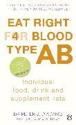 Cover-Bild zu Eat Right for Blood Type AB (eBook) von D'Adamo, Peter J.
