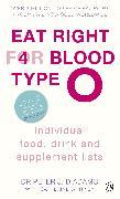 Cover-Bild zu Eat Right for Blood Type O (eBook) von D'Adamo, Peter J.