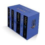 Cover-Bild zu Rowling, J.K.: Harry Potter Ravenclaw House Editions Paperback Box Set