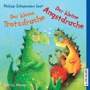 Cover-Bild zu Mennen, Patricia: Der kleine Trotzdrache / Der kleine Angstdrache