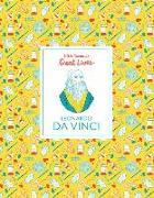 Cover-Bild zu Little Guides to Great Lives: Leonardo Da Vinci von Thomas, Isabel