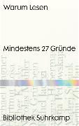 Cover-Bild zu Wegner, Frank (Hrsg.): Warum Lesen