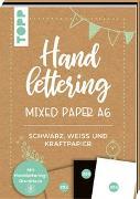 Cover-Bild zu Handlettering Mixed Paper Block A6 von frechverlag