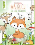 Cover-Bild zu Pia Pedevilla Malbuch - Für kleine Tierfreunde von Pedevilla, Pia
