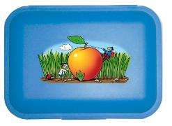 Cover-Bild zu Globi Lunchbox Forscher blau