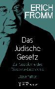 Cover-Bild zu Das Jüdische Gesetz (eBook) von Fromm, Erich