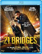 Cover-Bild zu 21 Bridges Blu ray von Brian Kirk (Reg.)