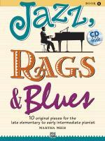 Cover-Bild zu JAZZ RAGS & BLUES 1 von Mier, Martha