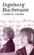 Cover-Bild zu Sämtliche Gedichte von Bachmann, Ingeborg