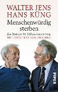 Cover-Bild zu Menschenwürdig sterben von Jens, Walter
