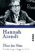 Cover-Bild zu Über das Böse von Arendt, Hannah