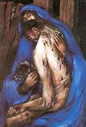 Cover-Bild zu Karfreitagabend. Rosenberger Altar von Köder, Sieger (Illustr.)