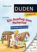 Cover-Bild zu Duden Leseprofi - Mit Bildern lesen lernen: Ein Ausflug zum Reiterhof, Erstes Lesen von Dölling, Beate
