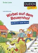 Cover-Bild zu Duden Leseprofi - Mit Bildern lesen lernen: Wirbel auf dem Bauernhof, Erstes Lesen von Holthausen, Luise