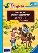 Cover-Bild zu Die besten Erstlesegeschichten für Mädchen 2. Klasse mit toller Zaubertafel von Teigelkamp, Cornelia