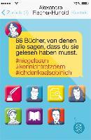 Cover-Bild zu 66 Bücher, von denen alle sagen, dass du sie gelesen haben musst (eBook) von Fischer-Hunold, Alexandra