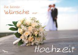 Cover-Bild zu Die besten Wünsche zur Hochzeit