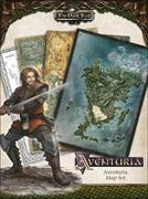 Cover-Bild zu The Dark Eye - Aventuria Map Set von Steffen Brand
