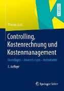 Cover-Bild zu Controlling, Kostenrechnung und Kostenmanagement von Joos, Thomas