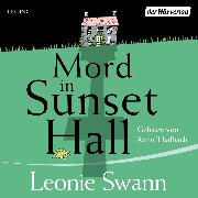 Cover-Bild zu Mord in Sunset Hall (Audio Download) von Swann, Leonie