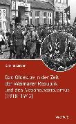 Cover-Bild zu Bad Oldesloe in der Zeit der Weimarer Republik und des Nationalsozialismus (eBook) von Zander, Sylvina