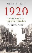 Cover-Bild zu 1920. Eine Grenze für den Frieden (eBook) von Schlürmann, Jan