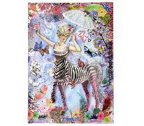 Cover-Bild zu Christian Lacroix B5 Zebra Girl Journal von Lacroix, Christian (Geschaffen)