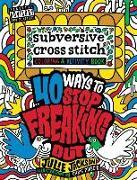 Cover-Bild zu Subversive Cross Stitch Coloring and Activity Book von Jackson, Julie