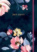 Cover-Bild zu Cath Kidston: Paintbox Flowers 2019 A5 Diary von Kidston, Cath