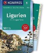 Cover-Bild zu KOMPASS Wanderführer Ligurien mit Cinque Terre. 1:50'000 von Wille, Franz