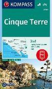 Cover-Bild zu KOMPASS Wanderkarte Cinque Terre. 1:35'000 von KOMPASS-Karten GmbH (Hrsg.)