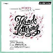 Cover-Bild zu eBook Hören & Gestalten: Handlettering