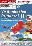 Cover-Bild zu Data Becker Visitenkarten-Druckerei 11 (Software + Papier)