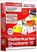 Cover-Bild zu Data Becker Visitenkarten Druckerei 10