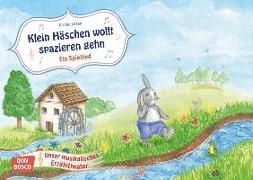 Cover-Bild zu Klein Häschen wollt spazieren gehn. Ein Spiellied von Luzán, Karina (Illustr.)