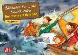 Cover-Bild zu Der Sturm auf dem See. Kamishibai Bildkartenset von Brandt, Susanne