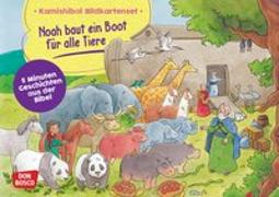 Cover-Bild zu Noah baut ein Boot für alle Tiere. Kamishibai Bildkartenset von Hebert, Esther