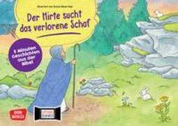 Cover-Bild zu Der Hirte sucht das verlorene Schaf. Kamishibai Bildkartenset von Hebert, Esther