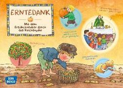 Cover-Bild zu Erntedank. Kamishibai Bildkartenset von Hebert, Esther