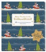 Cover-Bild zu Kleine Freuden in der Weihnachtszeit von Krupinski, Janna (Illustr.)