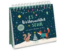 Cover-Bild zu Es weihnachtet sehr von Krupinski, Janna (Illustr.)